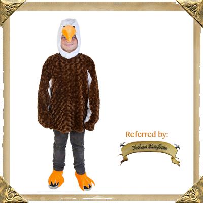 Child's Bald Eagle Halloween Costume