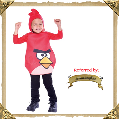 Red Angry Bird Halloween Costume for Kids