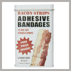 Bacon Strip Bandaids