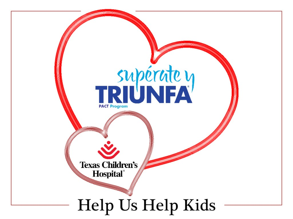 Superate y Triunfa Helping Kids This Valentines