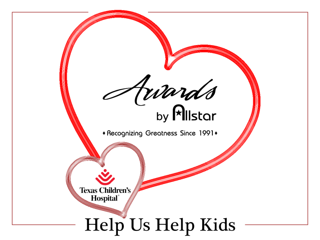 Awards by Allstar Helping Kids This Valentines