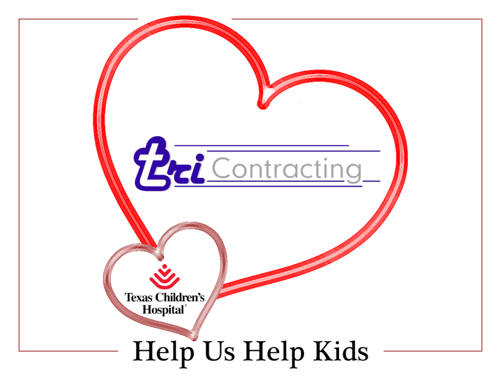 TRI Contracting Helps Kids for Valentines