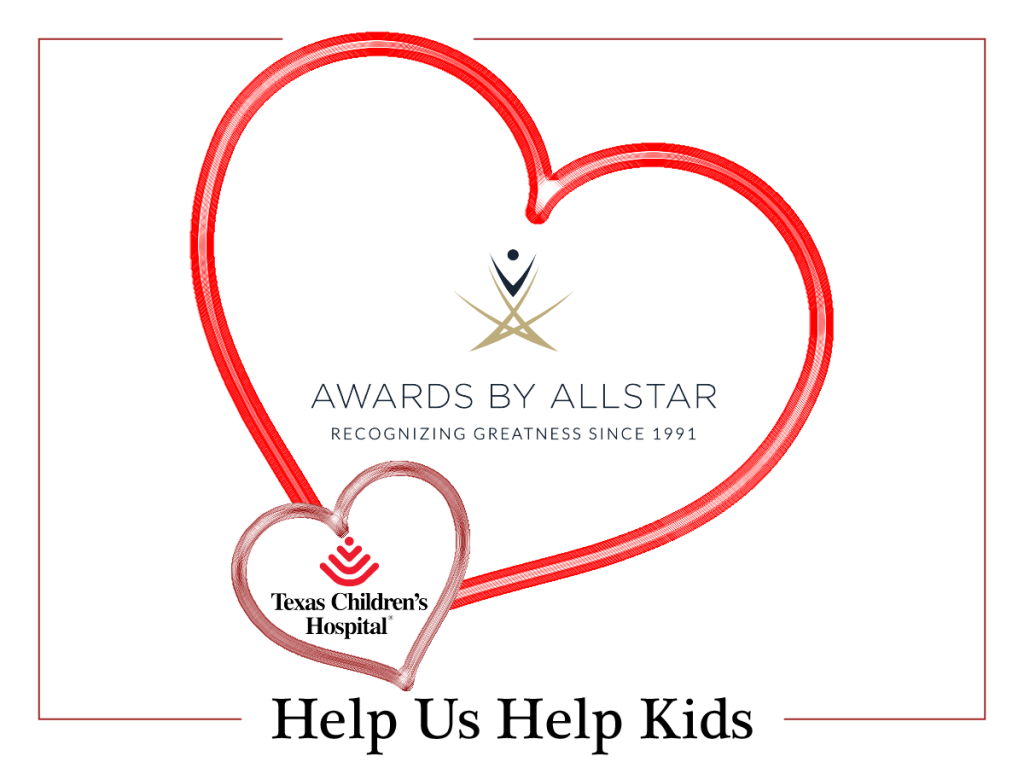 Awards by Allstar Helps Kids for Valentines