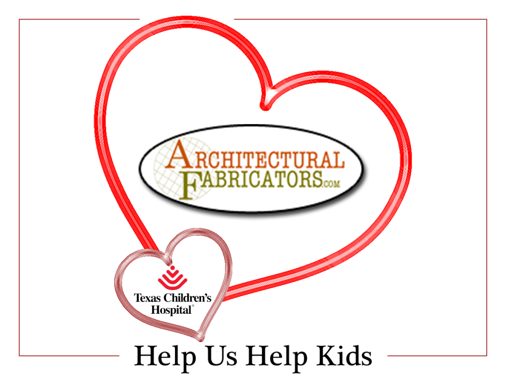 Architectural Fabricators Helps Kids for Valentines