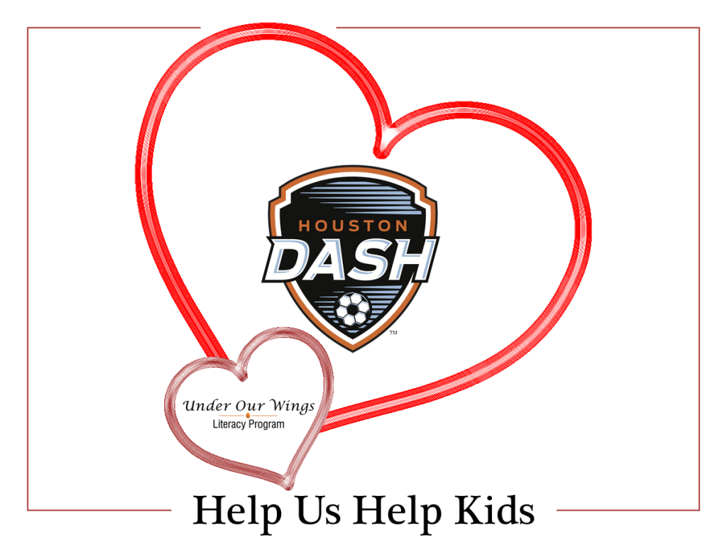 Houston Dash Helps Kids for Valentines