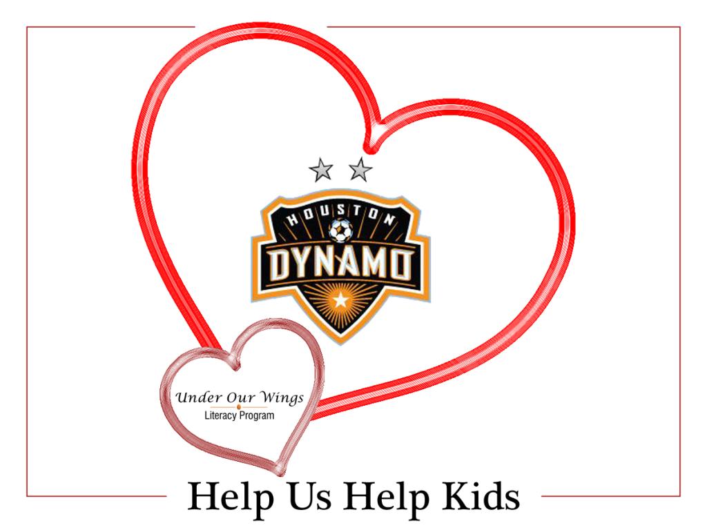 Houston Dynamo Helps Kids for Valentines