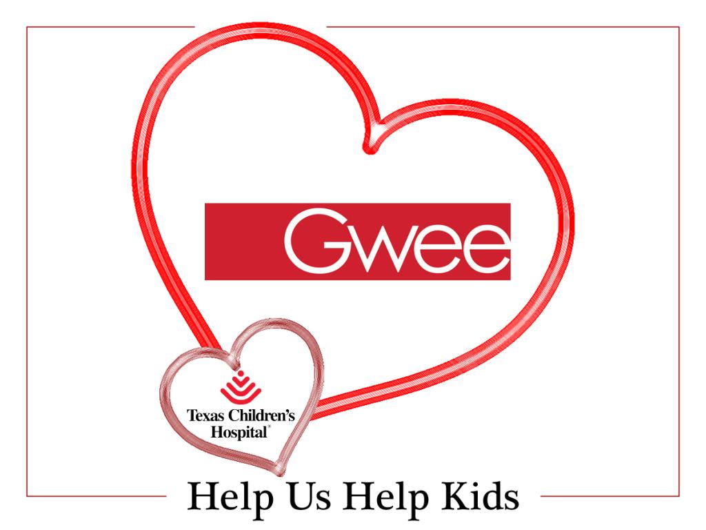 Gwee Helps Kids for Valentines